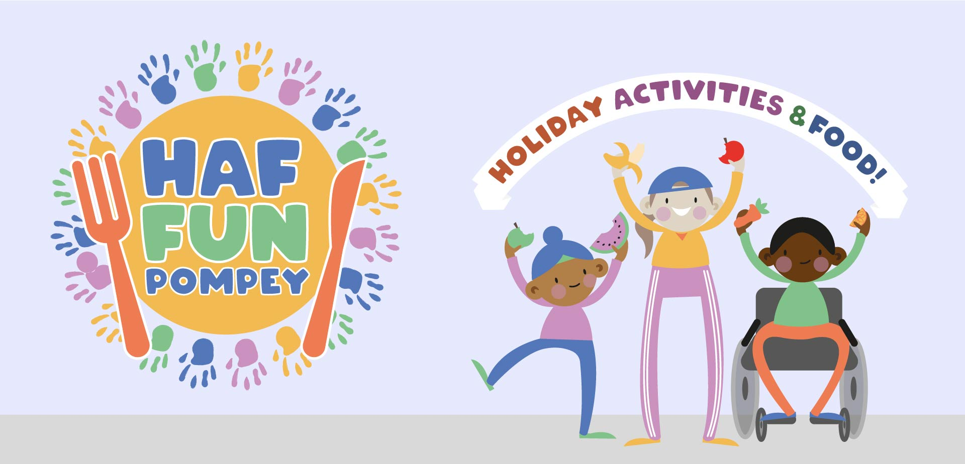 Holiday, activities & food banner image